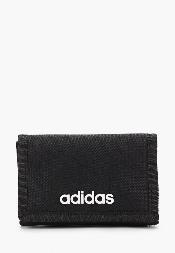 женский кошелёк adidas, черный