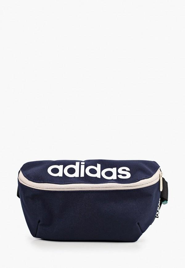 женская поясные сумка adidas, синяя
