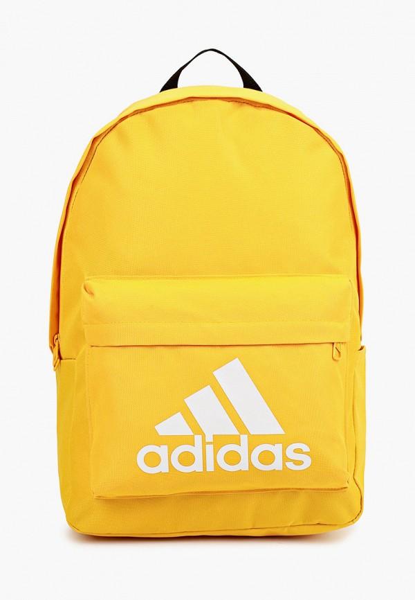 женский рюкзак adidas, желтый