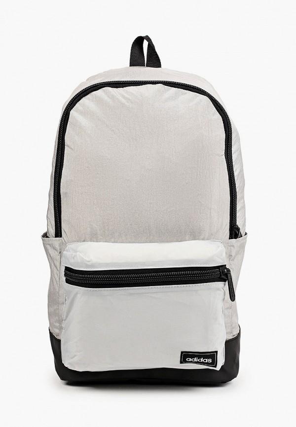 женский рюкзак adidas, серый