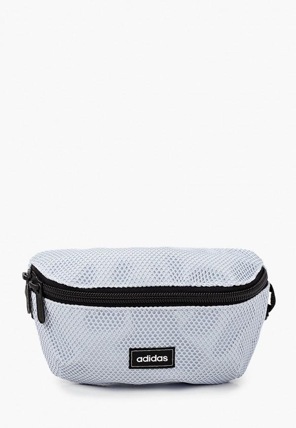 женская поясные сумка adidas, голубая