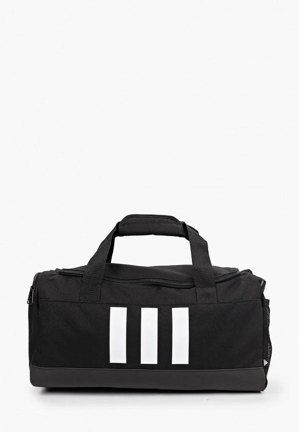 женская спортивные сумка adidas, черная