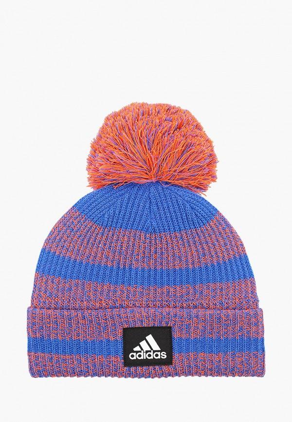 шапка adidas малыши, синяя