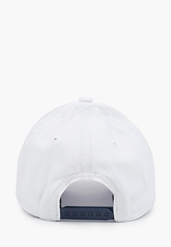 Фото 2 - Бейсболка adidas белого цвета