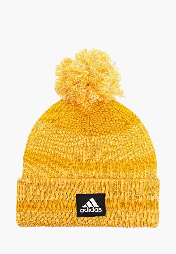 шапка adidas малыши, желтая