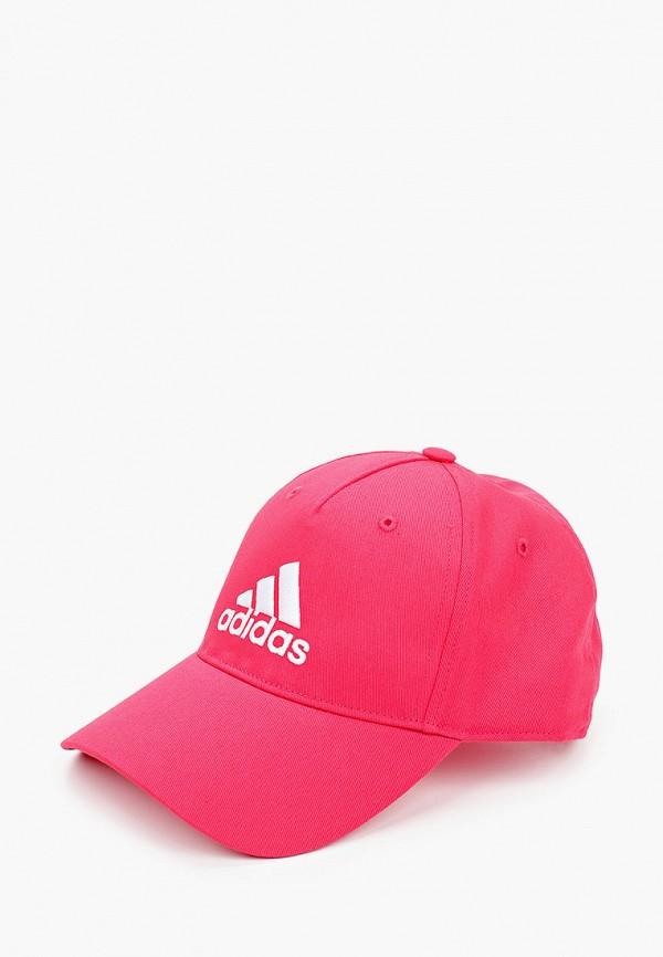 бейсболка adidas малыши, розовая