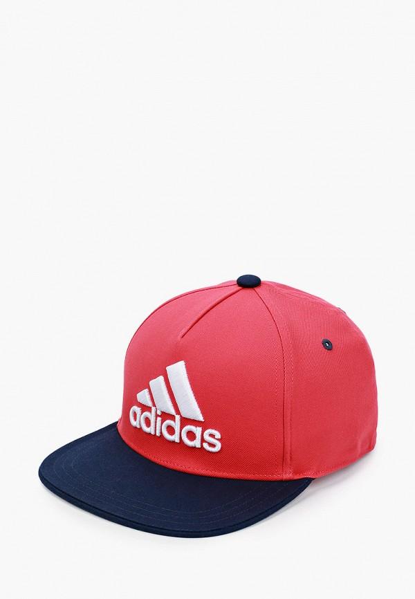 бейсболка adidas малыши, красная