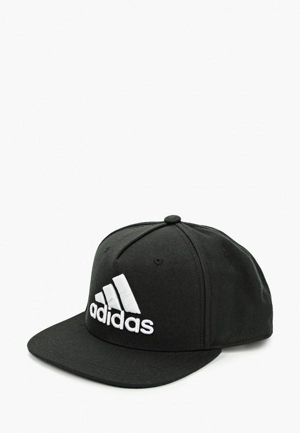 мужская бейсболка adidas, черная
