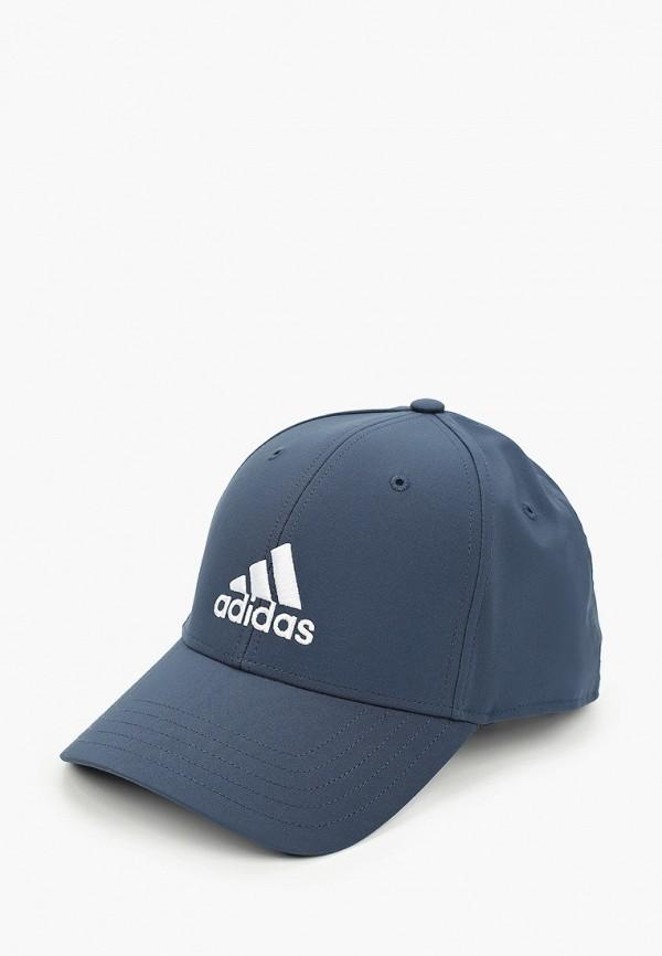 мужская бейсболка adidas, синяя