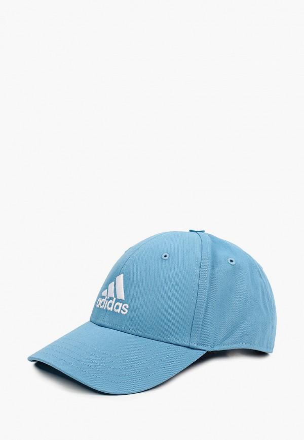 мужская бейсболка adidas, голубая