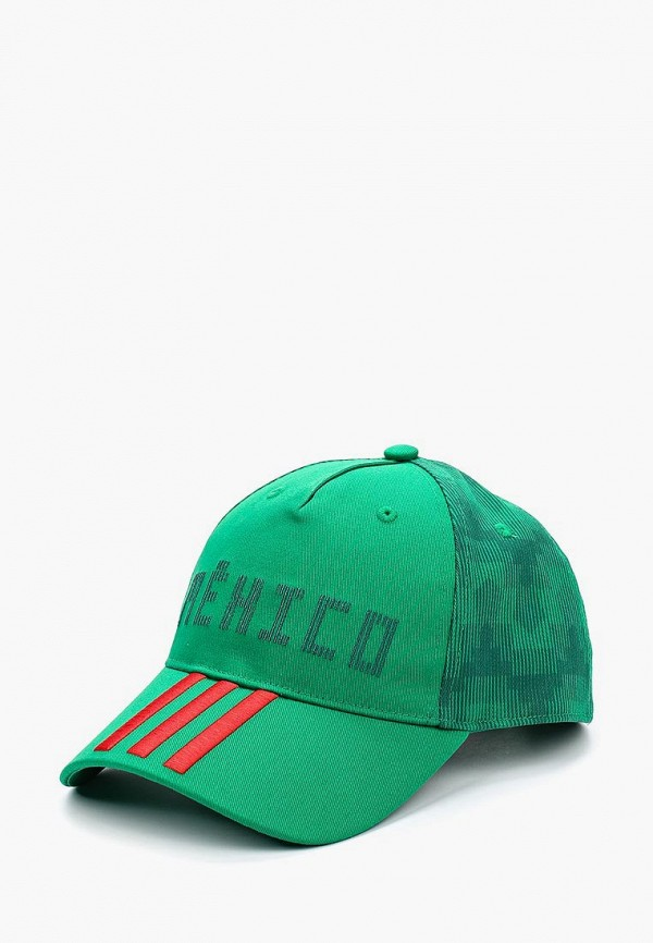 женская бейсболка adidas, зеленая