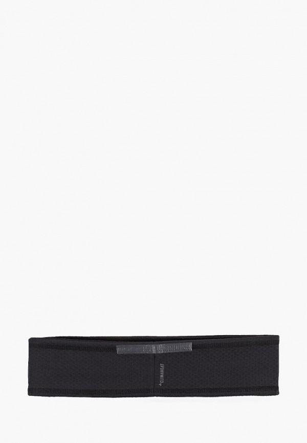 Фото 2 - Повязка adidas черного цвета