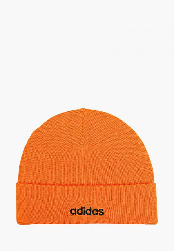 Фото - Шапку adidas оранжевого цвета