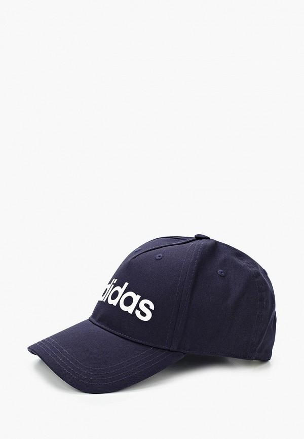 женская бейсболка adidas, синяя