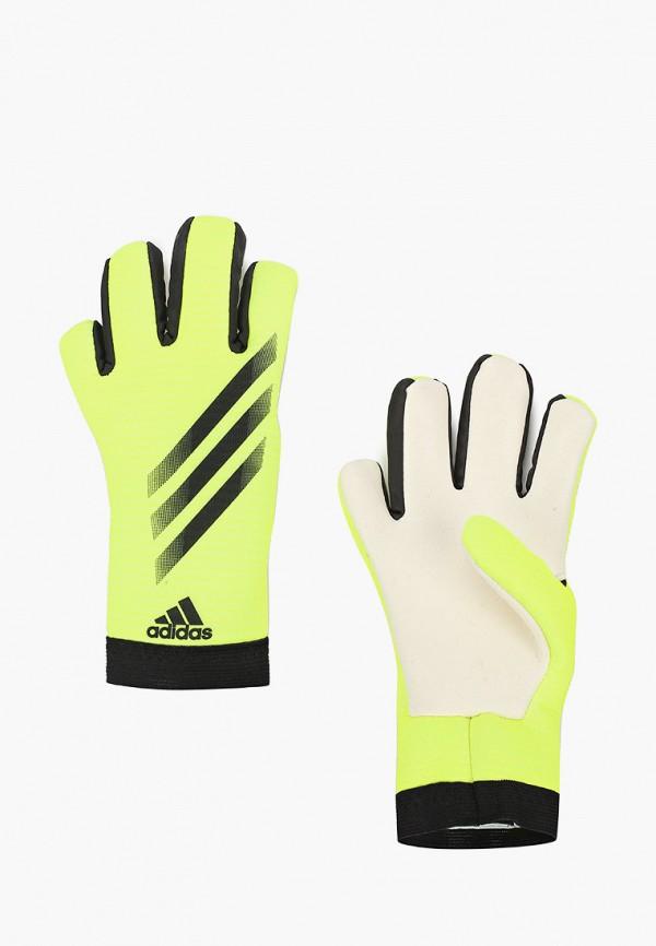 перчатки adidas для мальчика, зеленые