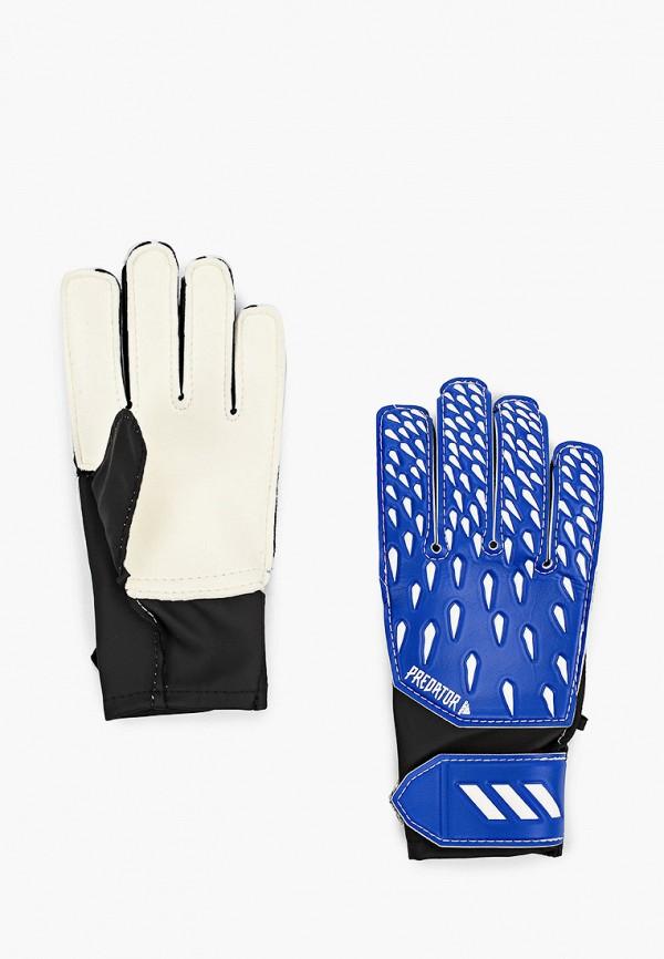 перчатки adidas для мальчика, синие