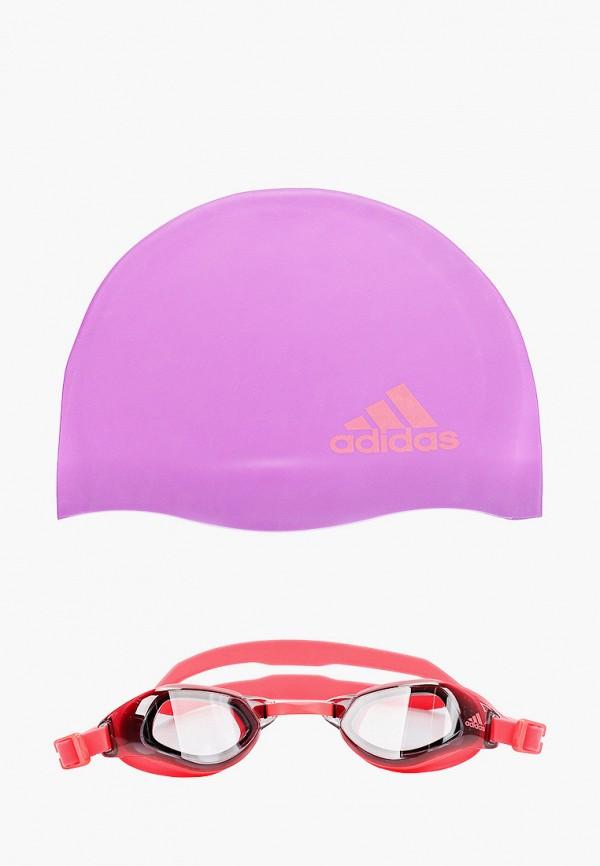 Шапочка и очки для плавания adidas DQ1712 фото