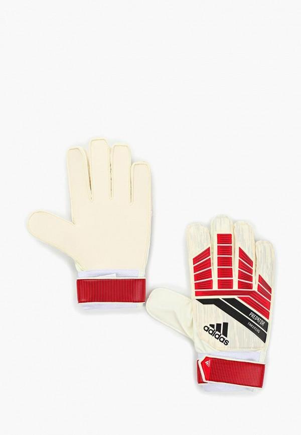 Перчатки вратарские adidas adidas AD002DUALSQ7 цена