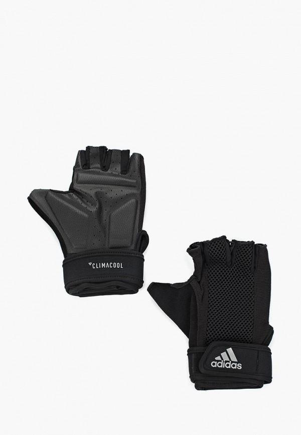 Перчатки для фитнеса adidas adidas AD002DUALSQ9 перчатки adidas перчатки adidas ace zones ultim ah7802
