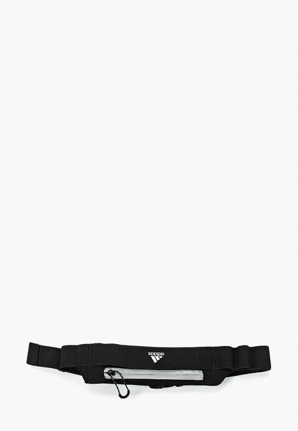Купить Сумка поясная adidas, adidas AD002DUALSR3, черный, Осень-зима 2018/2019