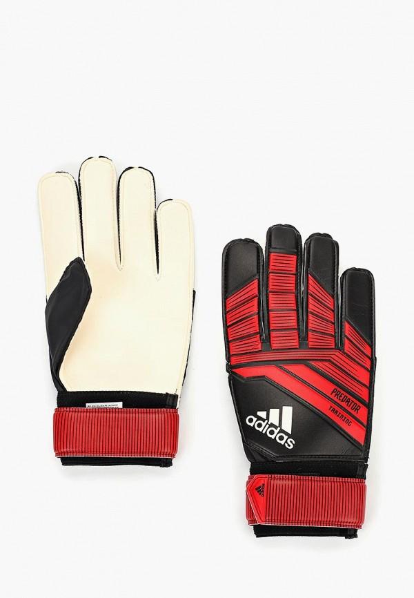 Купить Перчатки вратарские adidas, Predator TRAIN, AD002DUCDDM4, красный, Осень-зима 2018/2019