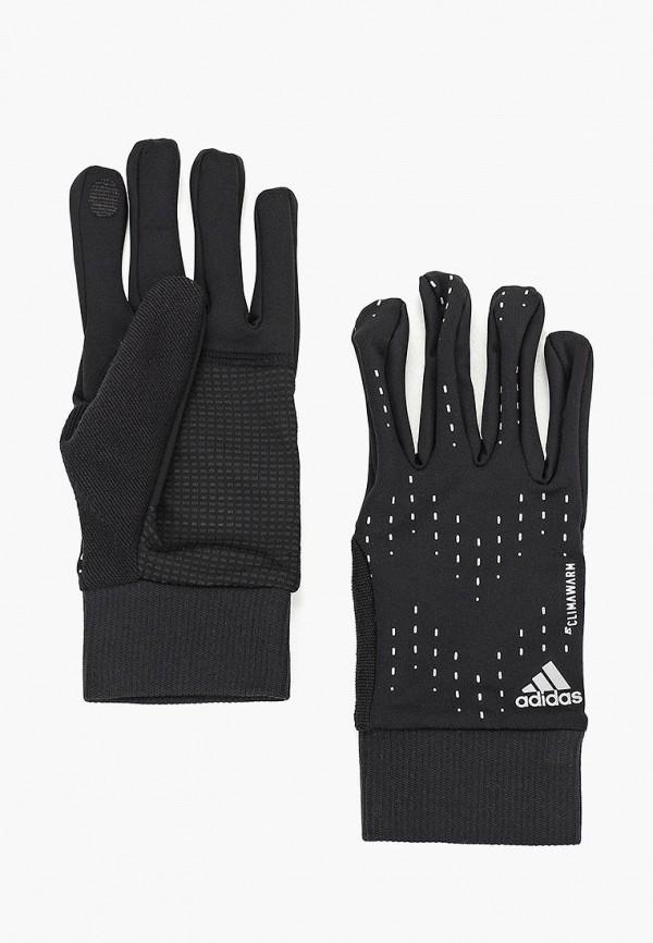 Купить Перчатки adidas, RUN GLOVES, AD002DUCDDN7, черный, Осень-зима 2018/2019