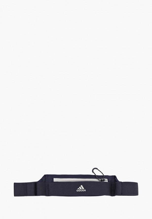 Купить Пояс для бега adidas, adidas AD002DUEECV7, синий, Весна-лето 2019