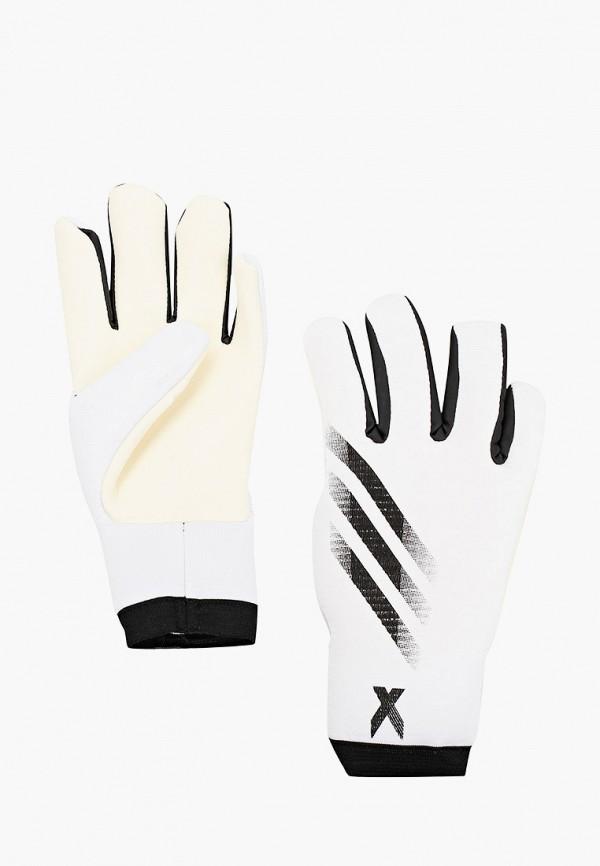женские перчатки adidas, белые