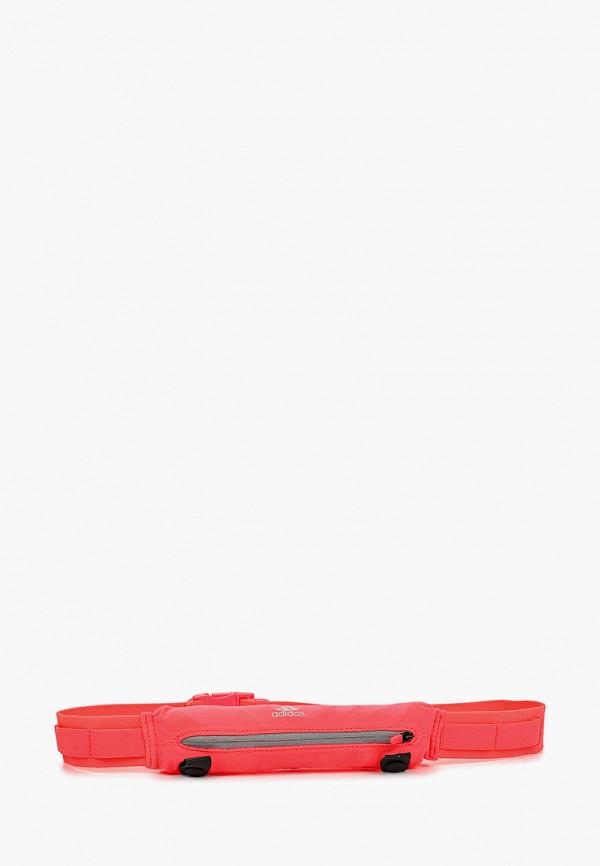 женский ремень adidas, розовый