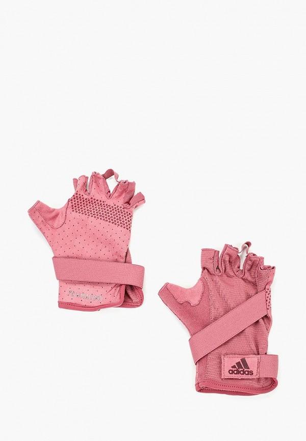 Перчатки для фитнеса adidas adidas AD002DWCDDU7 перчатки для фитнеса larsen nt558r red