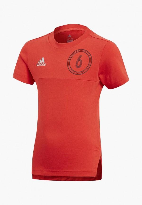 Футболка спортивная adidas adidas AD002EBALXU4 阿迪达斯(adidas)小肩包 亮黄荧光色 a95766