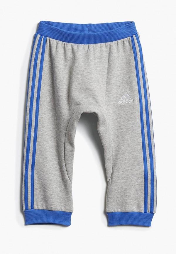 спортивные спортивные брюки adidas для мальчика, серые