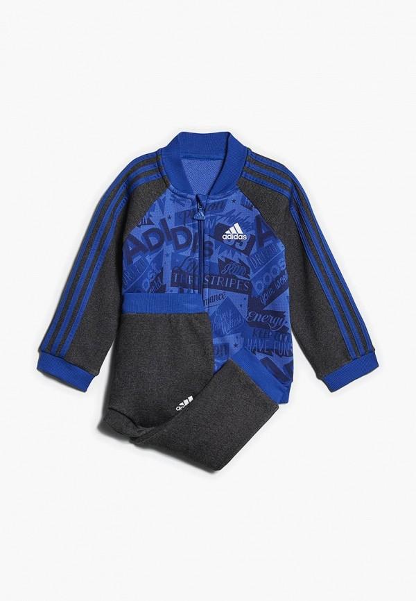 спортивные спортивный костюм adidas для мальчика, разноцветный