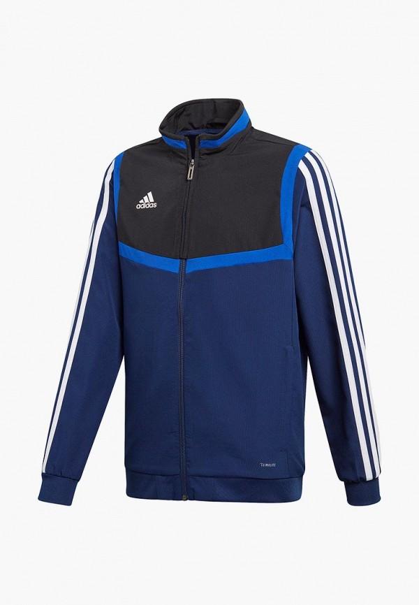 олимпийка adidas для мальчика, синяя