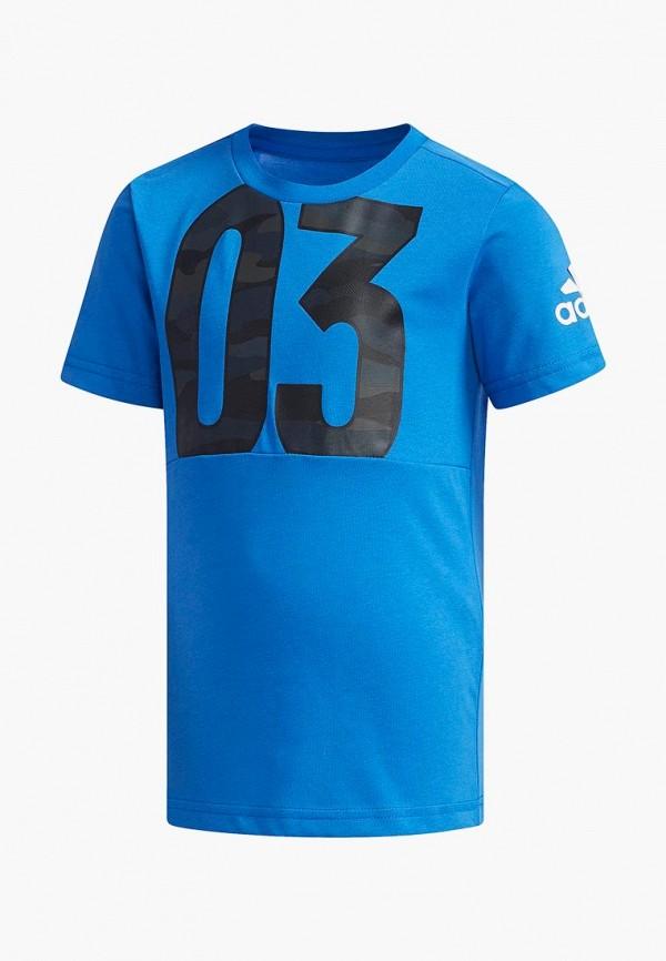 купить Футболка спортивная adidas adidas AD002EBEEBY1 по цене 1260 рублей