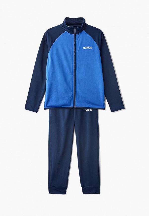 спортивные спортивный костюм adidas для мальчика, синий