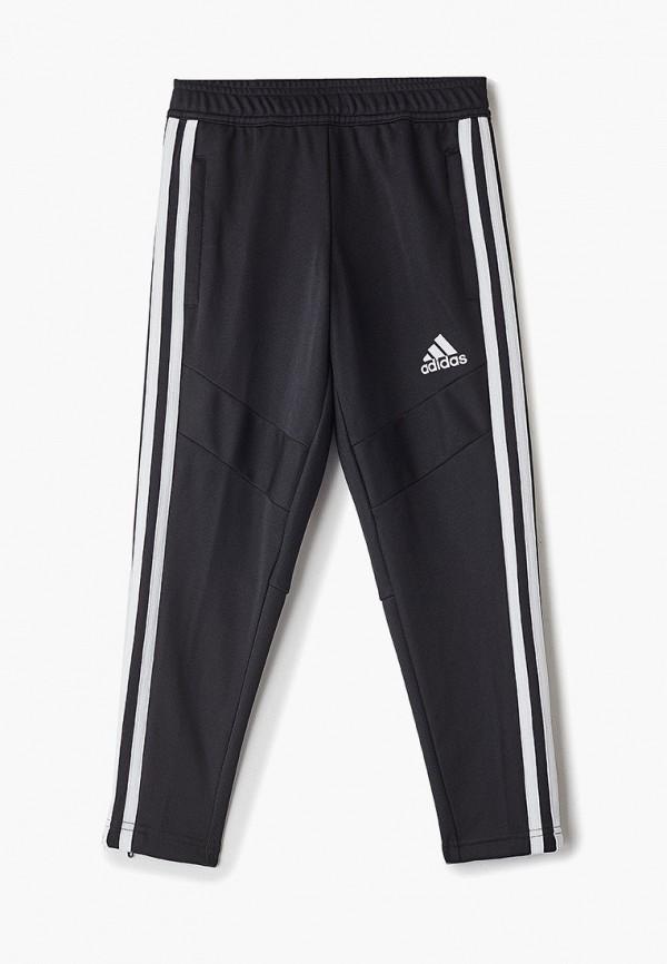 спортивные спортивные брюки adidas для мальчика, черные