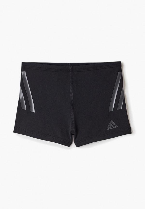 плавки adidas для мальчика, черные
