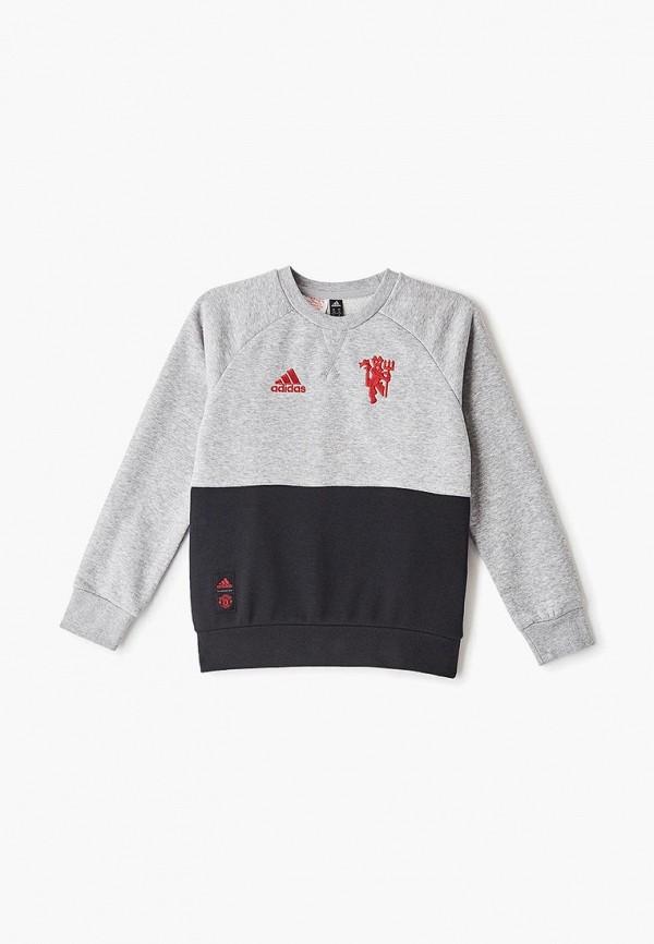 Фото - Свитшот adidas серого цвета
