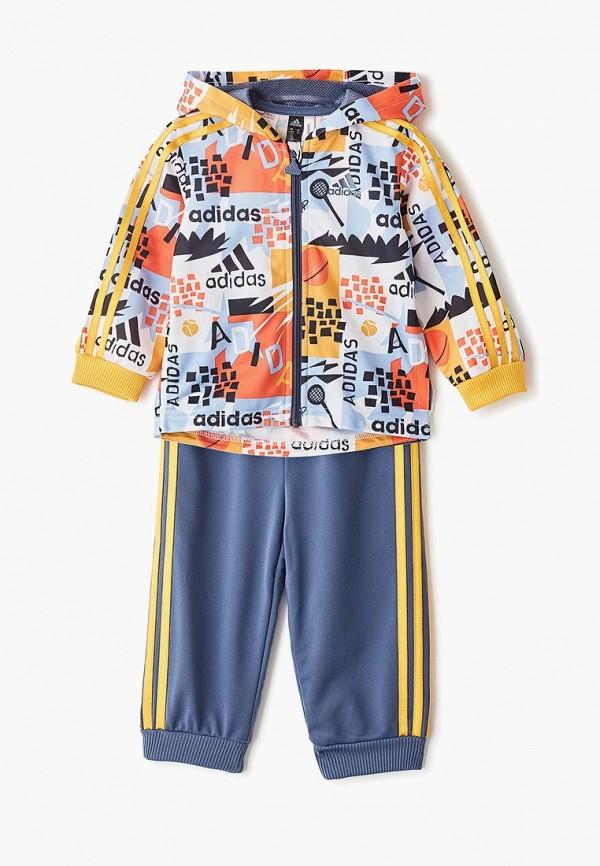 Фото - Костюм спортивный adidas разноцветного цвета