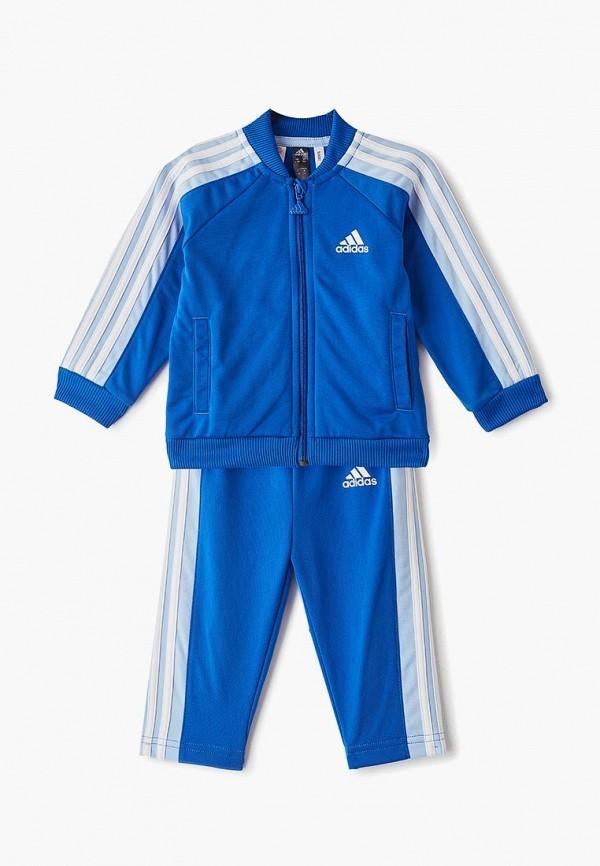 спортивные костюм adidas для мальчика, синий