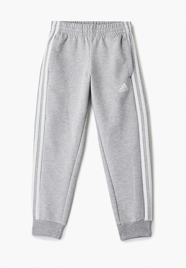 спортивные брюки adidas для мальчика, серые
