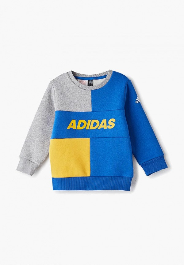 свитшот adidas для мальчика, разноцветный