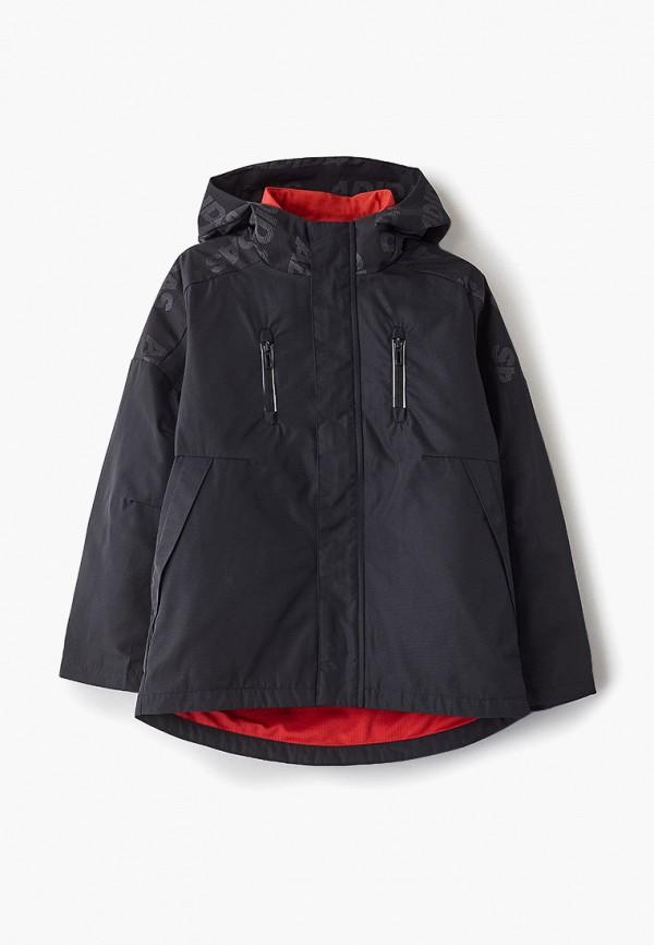 Фото - Куртку утепленная adidas черного цвета