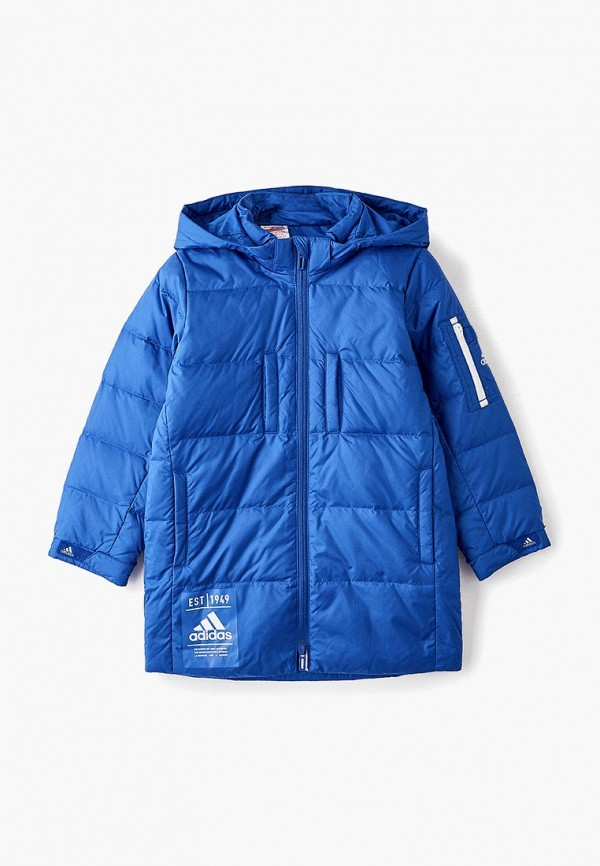 Пуховик adidas adidas AD002EBFKOQ6 пуховик женский adidas w helionic ho j цвет голубой bq1929 размер l 48 50