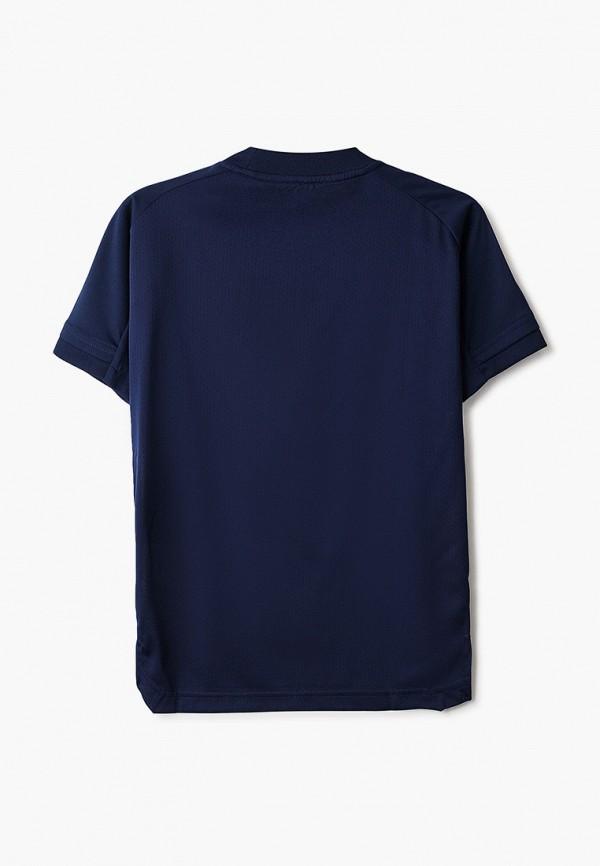 Фото 2 - Футболку спортивная adidas синего цвета