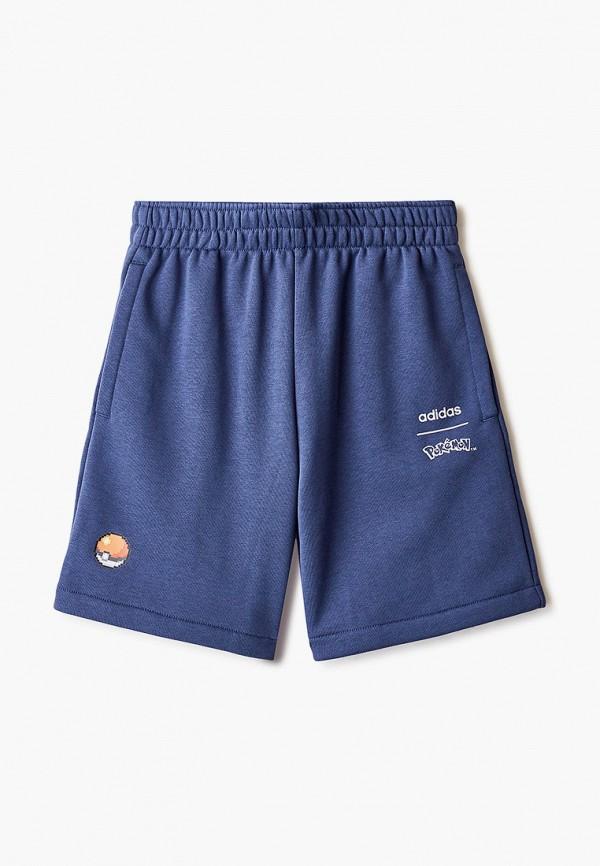 шорты adidas для мальчика, синие
