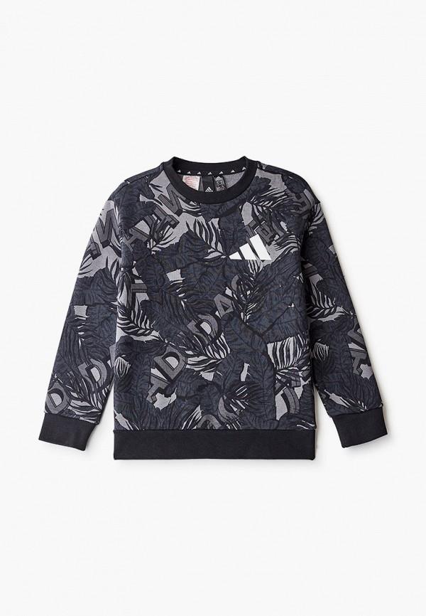 свитшот adidas для мальчика, серый