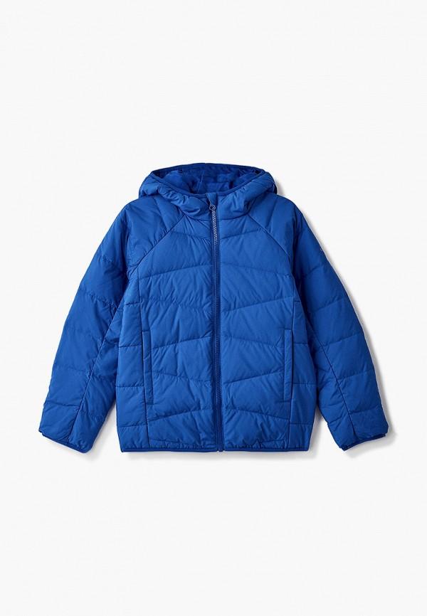 куртка adidas для мальчика, синяя