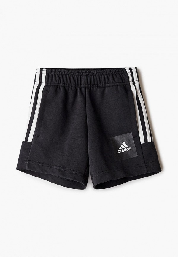 спортивные шорты adidas для мальчика, черные